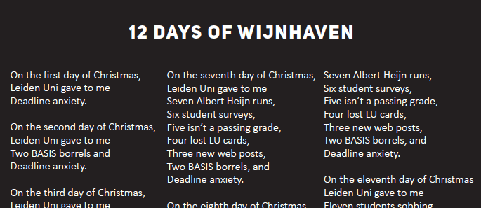 12 days of wijnhaven